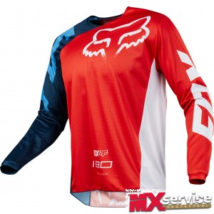 Fox 180 RACE JERSEY red