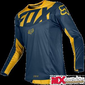 Fox 360 KILA  Jersey yellow