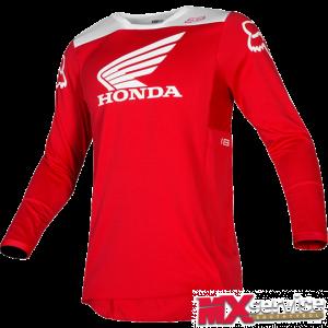 Fox 180 HONDA Jersey rot
