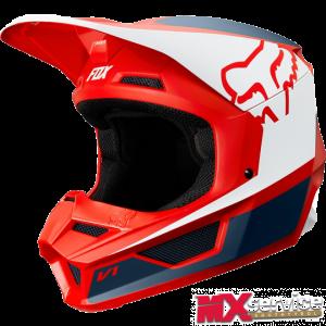 Fox V1 PRMZ Helmet red
