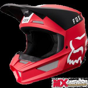 Fox V1 MATA Helmet red