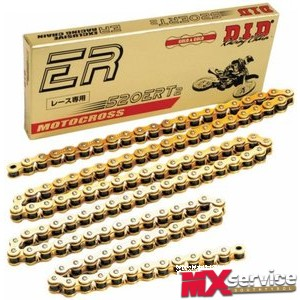 D.I.D. 520ERT2 Racing Chain X-Ring