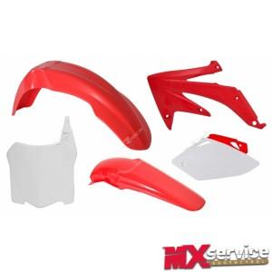 Plastik KIT Red CRF HONDA