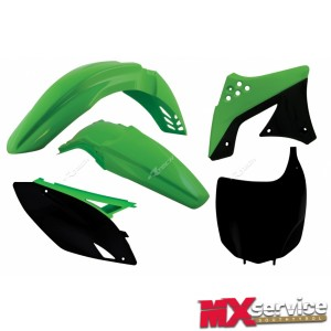 Plastik KIT Replica Original Green KAWASAKI