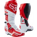 Fox INSTINCT BOOT - white/red