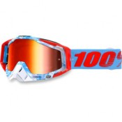 100% THE RACECRAFT BORBORA MIRROR RED LENS