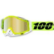 100% THE RACECRAFT SOLAR MIRROR GOLD LENS