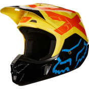 Fox V2 PREME HELMET, ECE black yellow