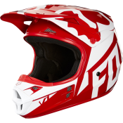 Fox V1 RACE HELMET, ECE red