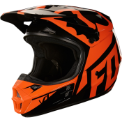Fox V1 RACE HELMET, ECE orange