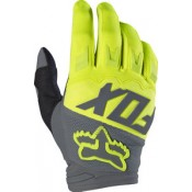 Fox DIRTPAW RACE GLOVE YELLOW