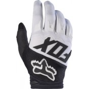 Fox DIRTPAW RACE GLOVE BLACK/WHITE