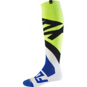 Fox CREO COOLMAX THICK SOCK WHITE/YELLOW