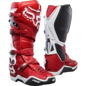 Fox INSTINCT BOOTS 2.0 RED/WHITE