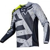 Fox 180 NIRV JERSEY GREY/YELLOW