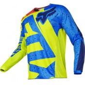Fox 180 NIRV JERSEY YELLOW/BLUE