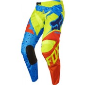 Fox 180 NIRV PANTS YELLOW/BLUE
