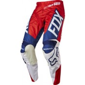 Fox 180 HONDA PANTS RED/WHITE