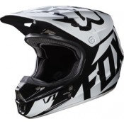Fox V1 RACE HELMET BLACK GLOSS FINISH