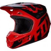 Fox V1 RACE HELMET RED GLOSS FINISH