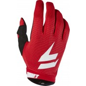 WHIT3 AIR GLOVE red