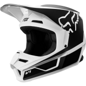 Fox V1 PRMZ Helmet white/black