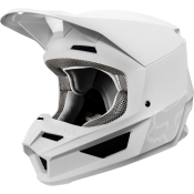 Fox V1 MATTE Helmet white