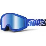 100% THE STRATA BLUE LAGOON MIRROR BLUE LENS