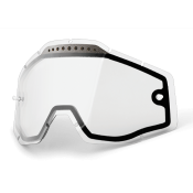 RACECRAFT/ACCURI/STRATA Vented Dual Pane Lens Anti-Fog - Clear