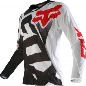 FOX 360 Divizion Jersey black-red