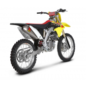 Akrapovic - Komplettanlage EVOLUTION, Reglement FIM 2013 - 112 DECIBEL Suzuki RM Z 250 10-13