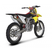Akrapovic - Komplettanlage RACING, Reglement FIM 2013 - 112 DECIBEL Suzuki RM-Z 450  08-13