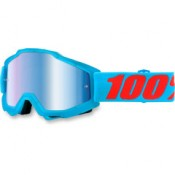 100% THE ACCURI ACIDULOUS CYAN MIRROR BLUE LENS