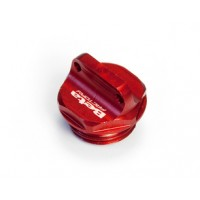 Beta Tappo olio motore in alluminio anodizzato rosso