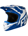 Fox V1 RACE HELMET, ECE blue
