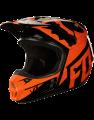 Fox V1 RACE HELMET, ECE orange