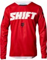 Shift Whit3 Ninety Seven Jersey red