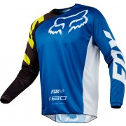 Fox 180 RACE JERSEY blue